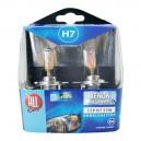 """COFFRET AMPOULE H7 12V 55W """"XENON MEGA WHITE"""" X 2"""