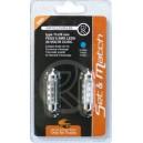 AMPOULE 6 SMD LEDS 24V CC/DC 11x39MM BLEU x 2