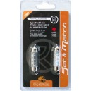 AMPOULE 6 SMD LEDS 24V CC/DC 11x39MM ROUGE x2