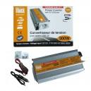 CONVERTISSEUR 12V/230V/300W (PRISE NF) + PORT USB 5V PRIM'TRUCK
